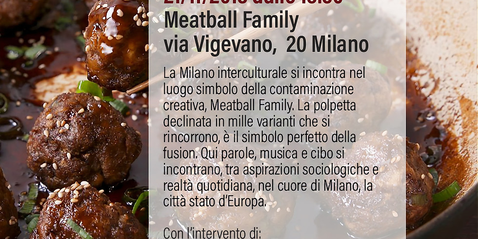 Fusion Talk - Meet me with a Meatball a Milano