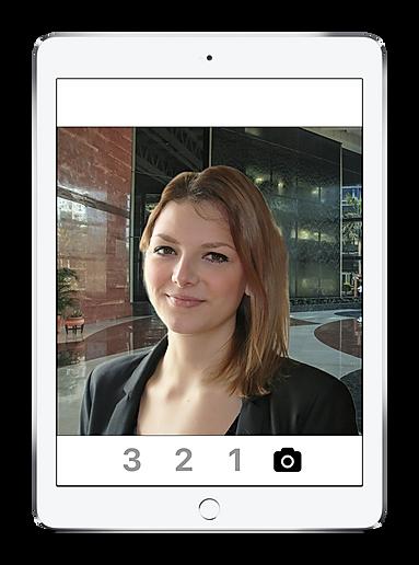 Sign in app photo cap