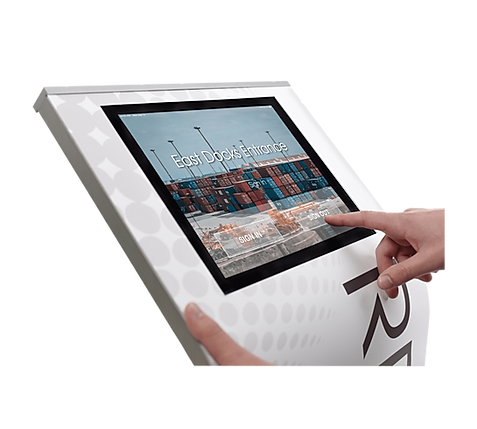 online visitor management system, wvms