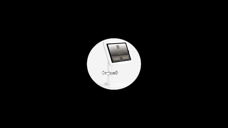 secure ipad stand, displays