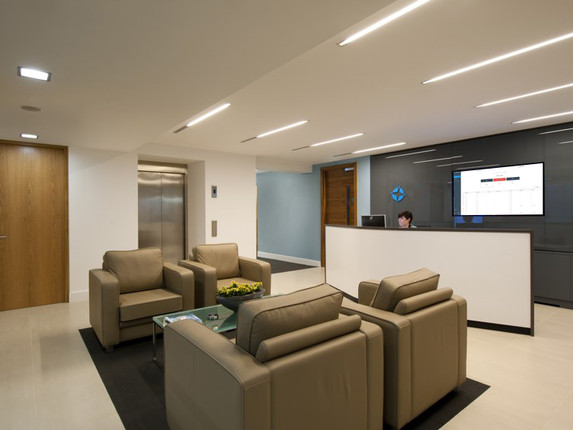 Use the web based dashboard as a visitor ordering system by casting to a waiting room television
