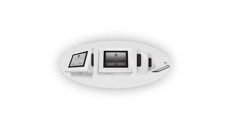 visitor management system ipad stands, displays