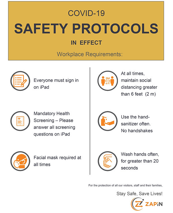 workplace screening tool, visitor management