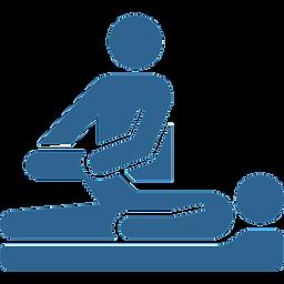 fisioterapia ortopédica - icone