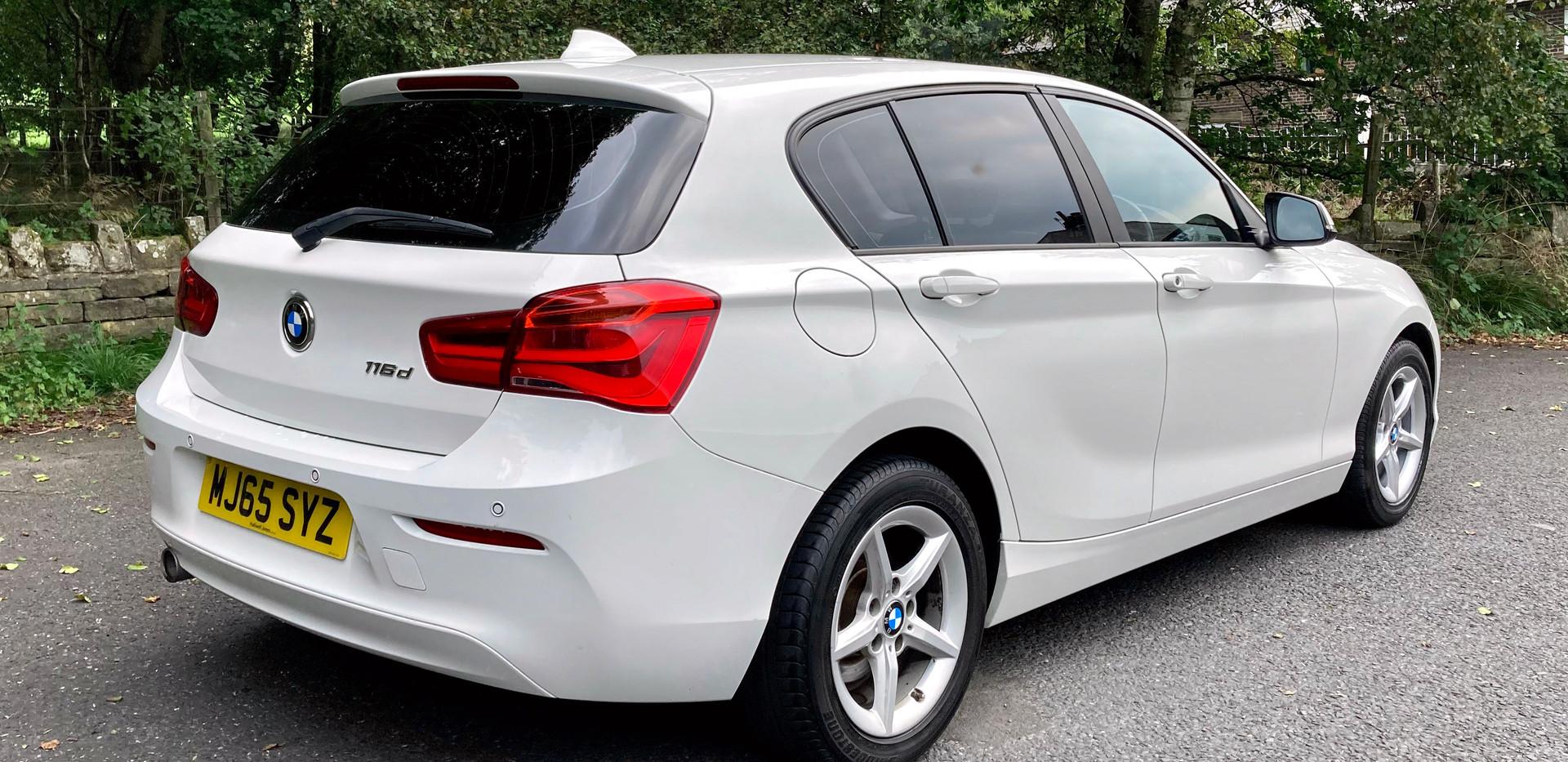2015 BMW 116d Sport 5dr