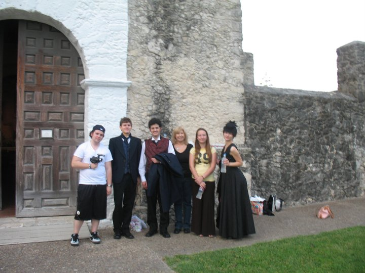 The Cast at Goliad