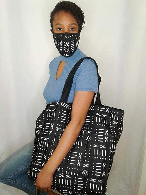 Mask and tote bag set