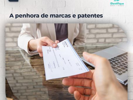 A penhora de marcas e patentes