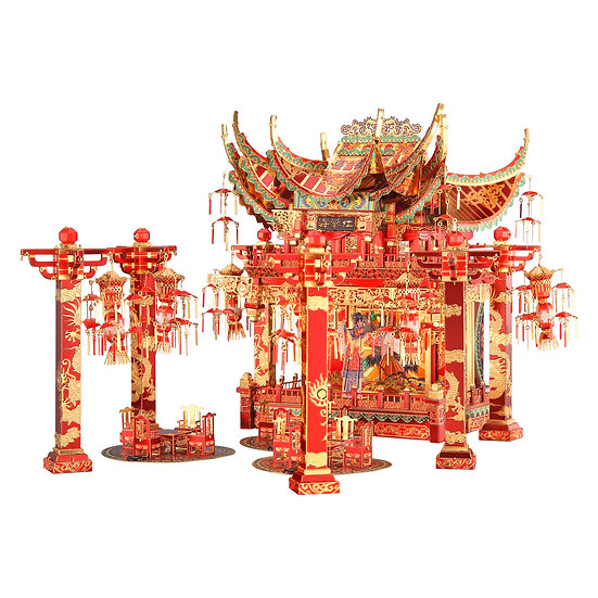 piececool - Red Crabapple Theater / 海棠紅戲院