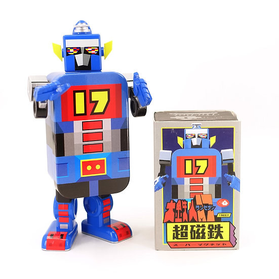 Tin Bot The Collectibles - Daitetsujin 17 TinBot