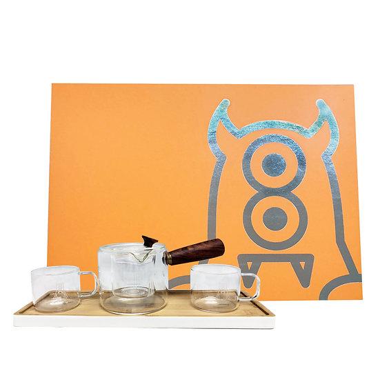 ZeroToOne - Glass Tea Set / 茶創樂 - 玻璃茶具套裝