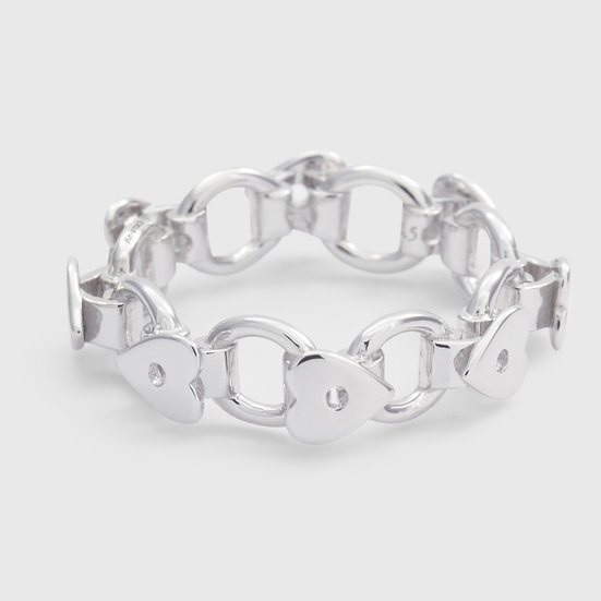 Corage Ring (Silver) by Re-attach