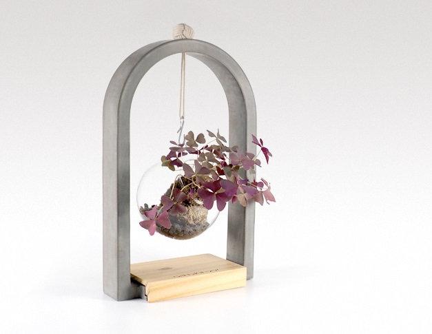Greenology - Arch Hanging Planter / 水泥拱門吊瓶花器