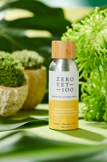 Zero Yet 100 - Brightening Face Wash Powder (Sensitive Skin) / 光亮潔面粉 (敏感肌) - 40g