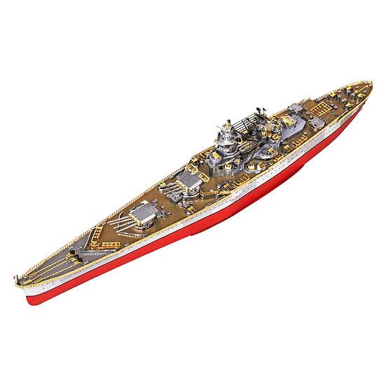 piececool - Richelieu Battleship / 黎塞留號戰列艦