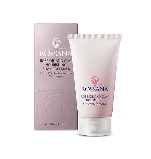 ROSSANA Rose Oil and Clay Nourishing Shampoo-Mask 玫瑰油水潤髮膜