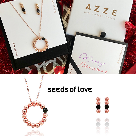 Seeds of Love (Black I) Xmas Set