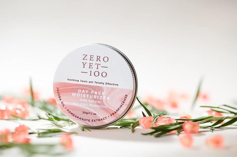 Zero Yet 100 - Day Face Moisturizer with Sun Protection / 日用防曬保濕面霜 - 30g
