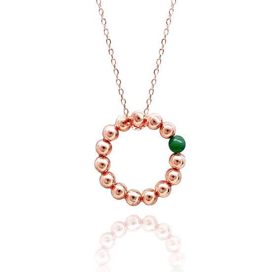 Seeds of Love Necklace (Green)