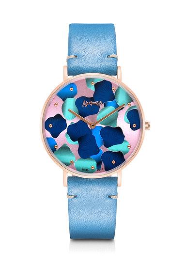 AXIS - Genuine Leather Quartz Watch / Bora Bora