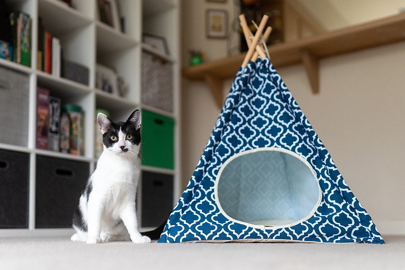 P.L.A.Y. - Teepee Tent - Moroccan Navy