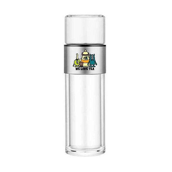 ZeroToOne - Double Glass Stainless Steel Tea Bottle / 茶創樂 - 雙層玻璃不銹鋼泡茶杯