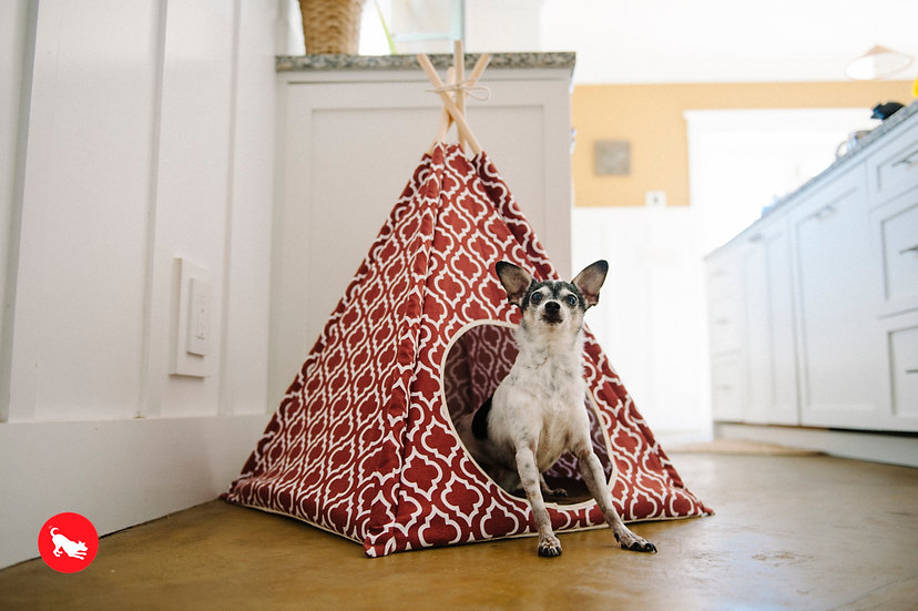 P.L.A.Y. - Teepee Tent - Moroccan Marsala