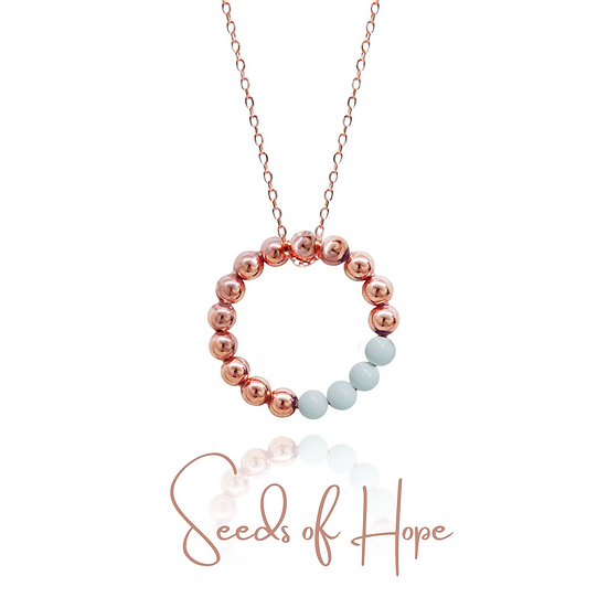Seeds of Hope Necklace (White)