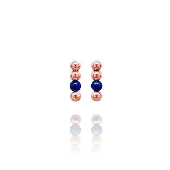 AZZE Jewelry - Seeds of Love Earring (Navy) / 愛的種子 耳環(青金)