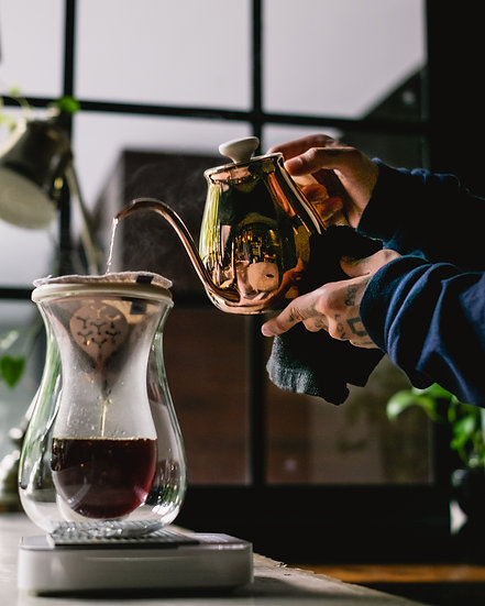 PAUS - Smutta Carafe Brewing Set (Rose Gold)
