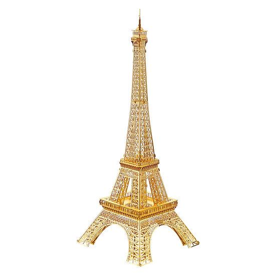 piececool - Eiffel Tower (Gold/Silver) / 埃菲爾鐵塔 (金色/銀色)