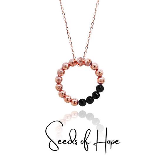 Seeds of Hope Necklace (Black)