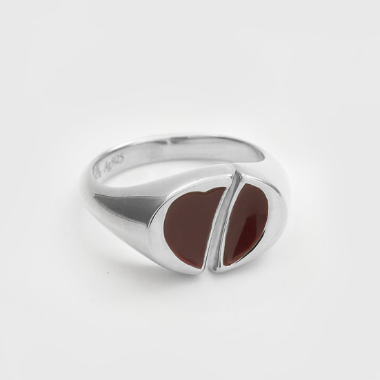 Beetlejuice Pinky Ring (Silver) by Re-attach