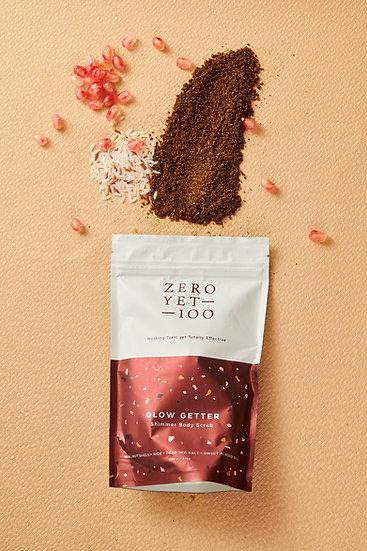 Zero Yet 100 - Glow Getter Body Scrub / 咖啡身體磨砂帶閃粉 - 20g/200g