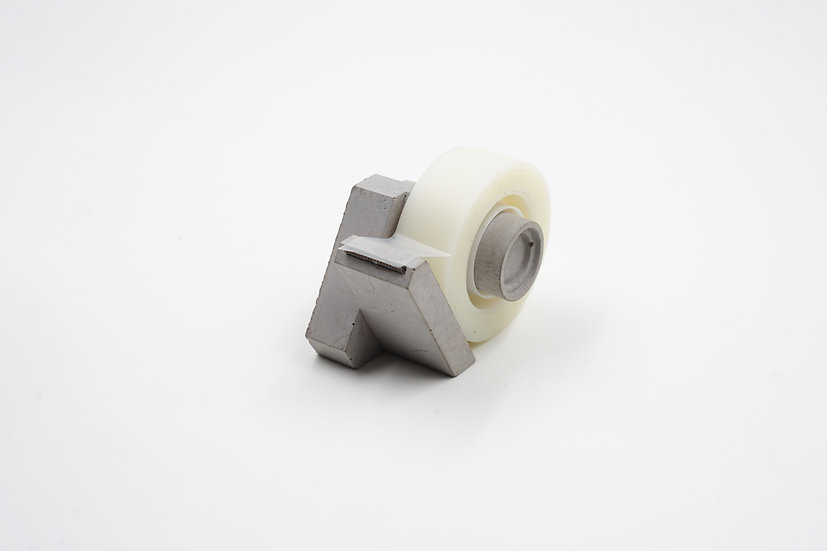 Yuan Design Studio - Concrete Tape Dispenser  水泥膠紙座