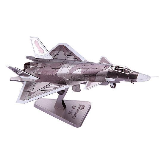 piececool -  J20 Jet / 殲20戰鬥機