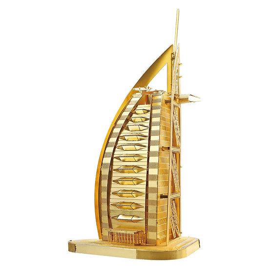 piececool - Burj Al Arab (Gold/Silver) / 阿拉伯之星 (金色/銀色)