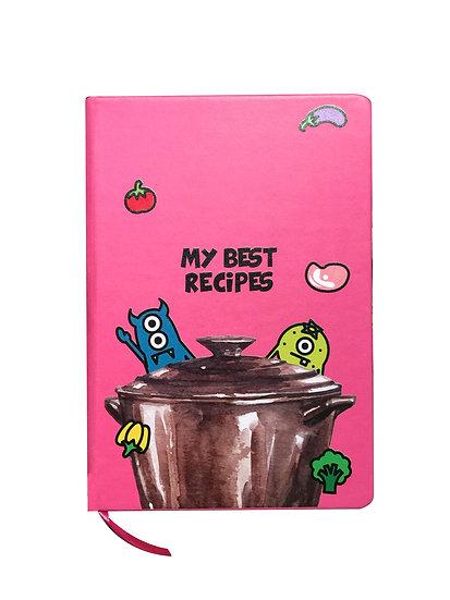 ZeroToOne - My Best Recipes Note Book / 茶創樂 - 我愛烹飪筆記本