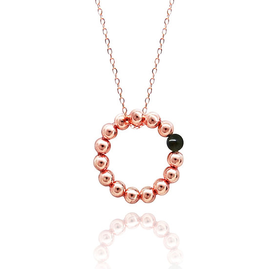 Seeds of Love Necklace (black)