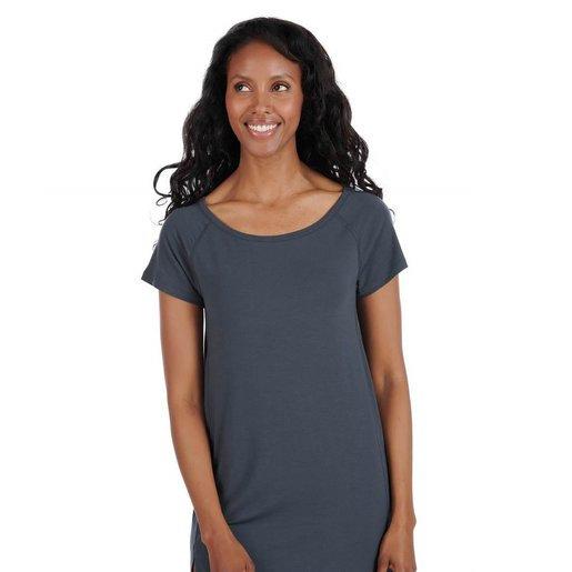 Dagsmejan Sleepshirt Women-Nattwell™ Sleep Tech (Dark Grey)/瑞士科研恒溫短襯睡衣裙(深灰)