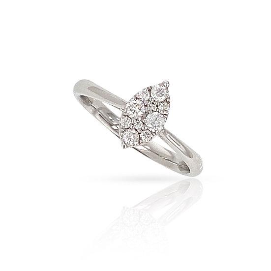 MARQUEE 18k Diamond Ring  - A Z Z E Jewelry