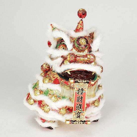 piececool -  Lion Dance(Gold / Red) / 醒獅 (金 / 紅)