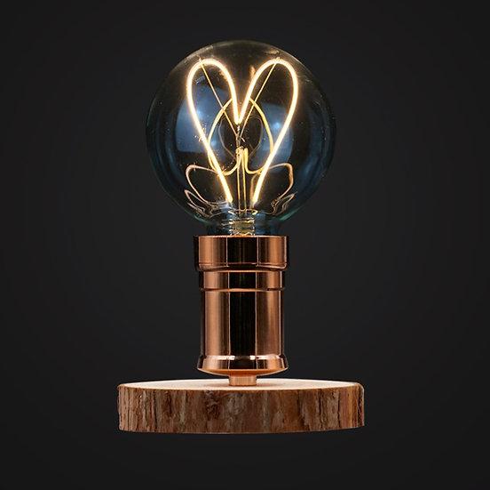 Love Me LED Wood Desk Lamp - 心形木檯燈