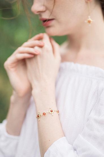 Verdandi House - Sun, Moon and Stars Collection: Sun & Moon Bracelet