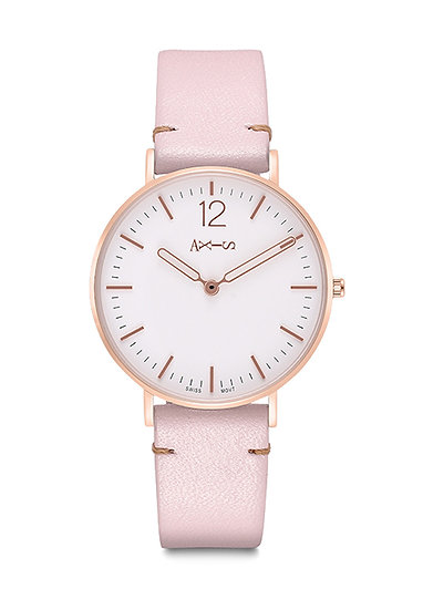 AXIS - Genuine Leather Quartz Watch / Everyday for Girlfriend