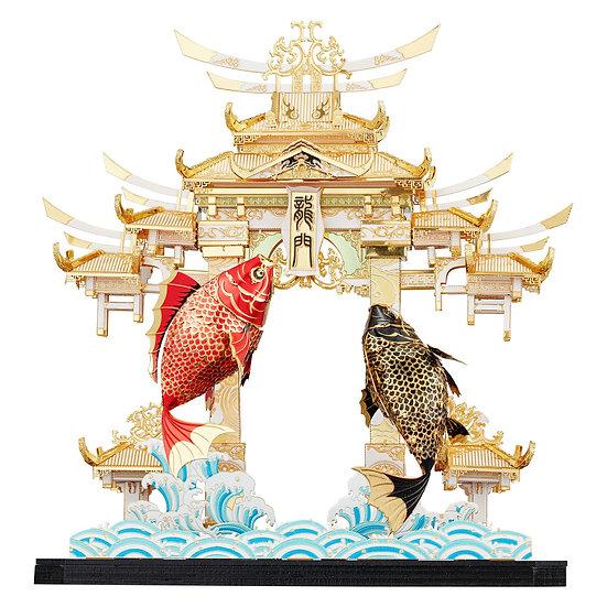 piececool - Dragon Gate Carps / 魚躍龍門