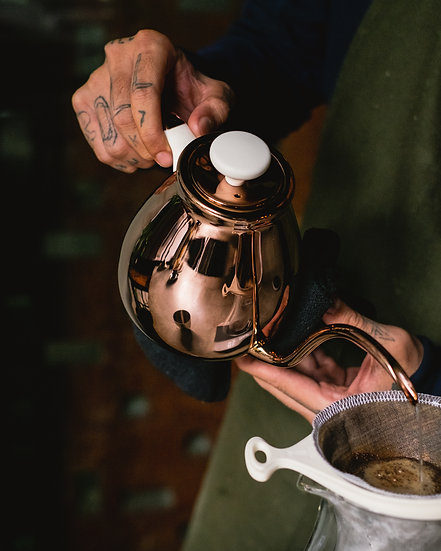 PAUS - Smutta Pour-Over Kettle (Rose Gold)