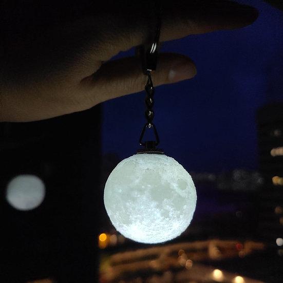 Levimoon | The Full Moon Light Up Keychain 迷你月球LED亮光鑰匙圈