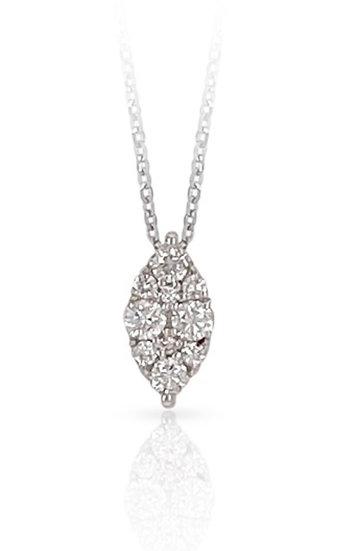 MARQUEE 18k Diamond Necklace  - A Z Z E Jewelry