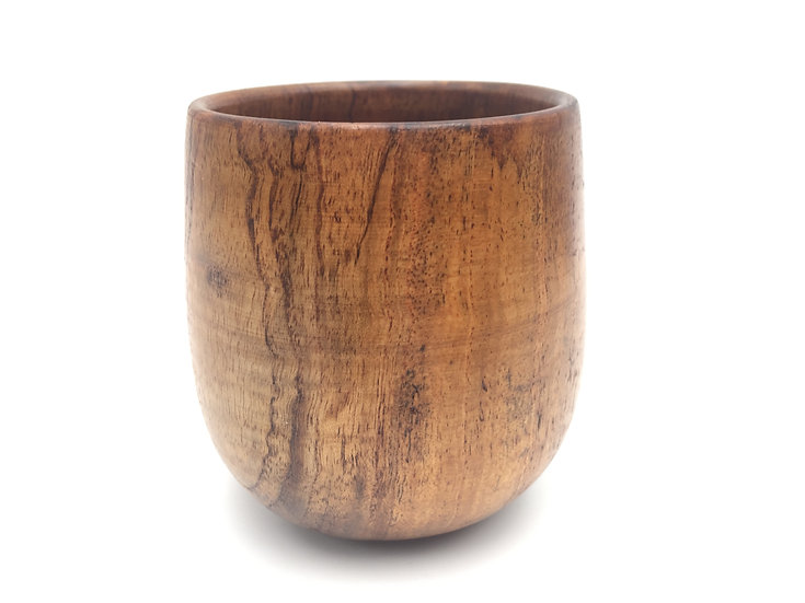 Islandoffer -  Japanese Wooden Tea Cup (4oz)